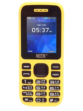 MTR MT 315 Dual SIM Feature Phone (Yellow)