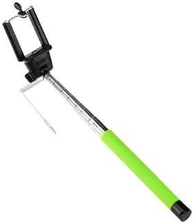 Multi Land Selfie Stick Extendable With AUX Cable For iPhone iOS & Android Phones, selfi!!