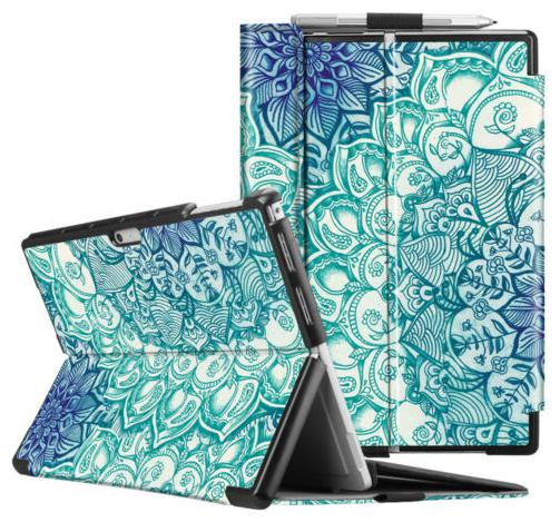 Multiple Angle Hard Case Business Cover For Microsoft Surface Pro 6 Pro 5 Pro 4