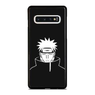 NARUTO SHIPPUDEN BLACK WHITE Samsung S5 S6 S7 S8 S9 S10 S10e Edge Plus Case