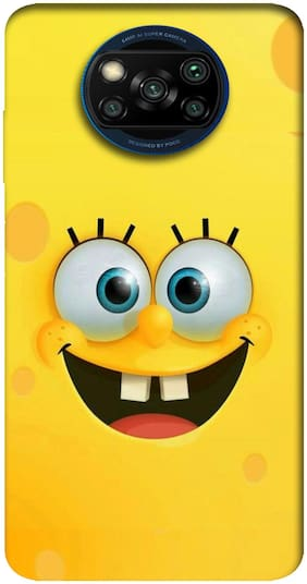 Poco X3 Silicone Back Cover By NCA SALER ( Yellow )