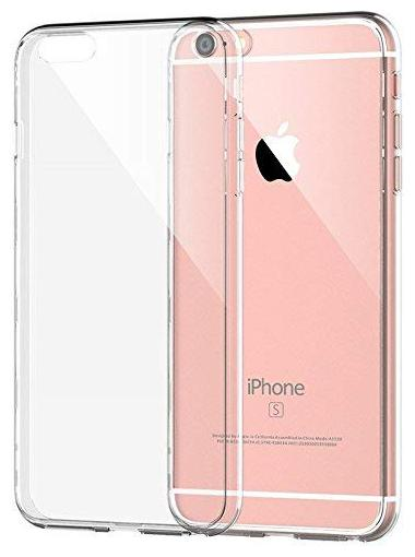Apple iPhone 6   Apple iPhone 6s Silicone   Rubber Back Cover   Soft Back Cover By NCA SALER   White   by NCA Saler