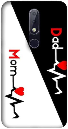NCA SALER Silicone Back Cover For Nokia 6.1 Plus ( Multi )