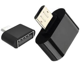 Selfieseven USB OTG Adapter  (Assorted)