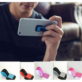 New and Attractive Ungrip Mobile Holder Finger Mobile Holder ( Assorted Colors )