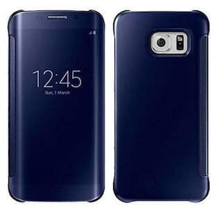 4925cd7b2dd New Luxury Smart Clear View Mirror Flip Cover Case Samsung Galaxy Note 8  -Blue