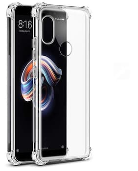 NFLIX Plastic Back Cover For Redmi Note 5 Pro ( Transparent )