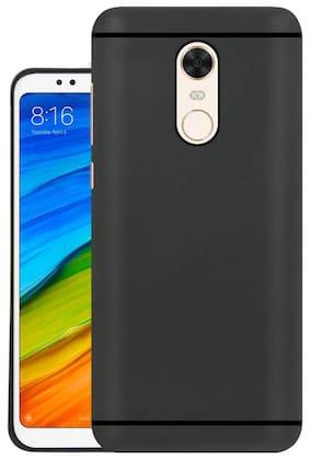NFLIX Polyurethane Back Cover For Redmi Note 5 ( Black )