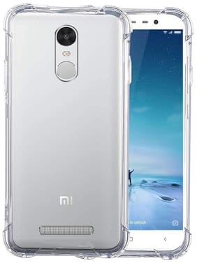 NFLIX Silicone Back Cover For Redmi Note 3 ( Transparent )