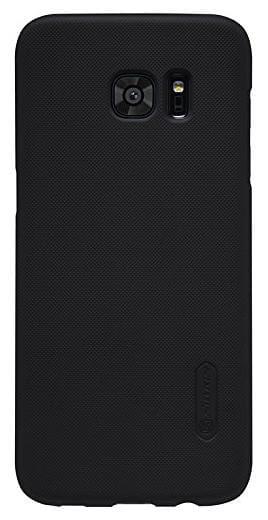 Nillkin Back Cover For Samsung Galaxy S7 Edge  Black