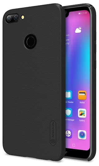 big sale fce14 178e9 Nillkin Case for Hauwei Honor 9N 9 N Super Frosted Hard Back Cover Hard PC  Black Color