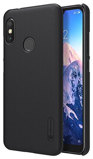 Nillkin Polycarbonate Back Cover For Xiaomi Redmi 6 Pro   Black   by Universe