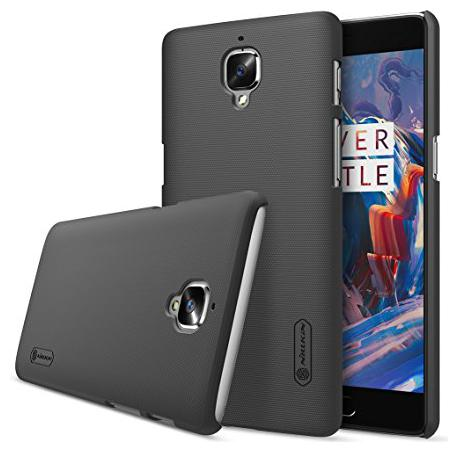 OnePlus 3 Polycarbonate Back Cover By Nillkin   Black   by Universe