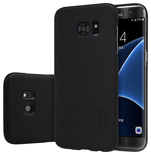 Nillkin Polycarbonate Back Cover For Samsung Galaxy S7 Edge   Black   by Universe