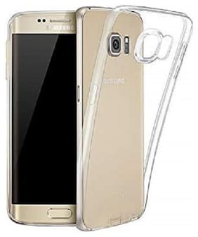 Samsung Galaxy S7 Edge Silicone Soft Back Cover By Nimmika Enterprises ( Transparent )