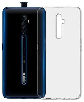 Oppo Reno 2 Z Silicone Soft Back Cover By Nimmika Enterprises ( Transparent )