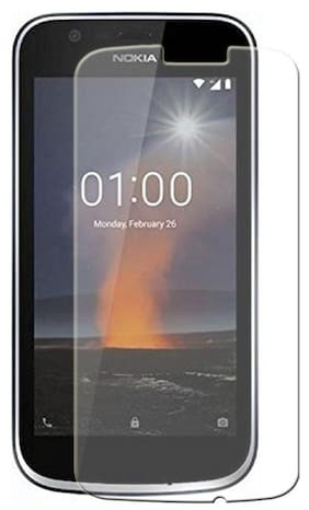 TEMPERED GLASSES Edge To Edge Tempered Glass For Nokia 1