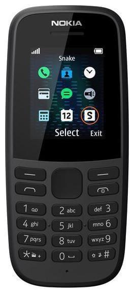 Nokia 105 Single SIM (Black)