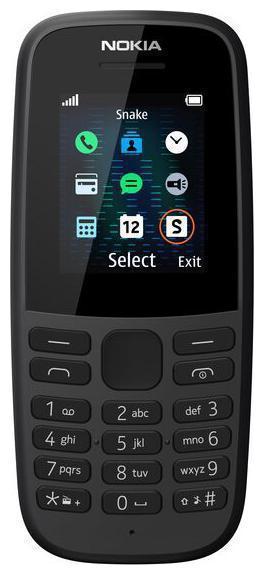 Nokia105 Dual Sim Black