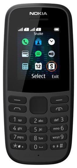 Nokia105 Dual SIM (Black)