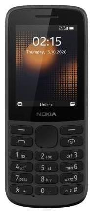 Nokia 215 4G DS 2020 (Black)