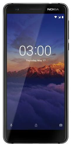Nokia 3.1 16 GB Black