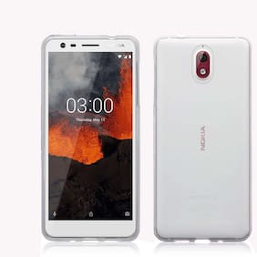 Nokia 3.1 - Best Quality Soft Case Silicone Back Cover In Transparent For Nokia 3.1