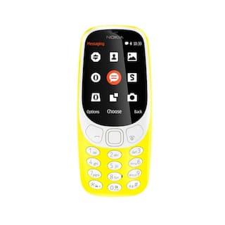 NOKIA 3310 DS TA1030 NV, YELLOW
