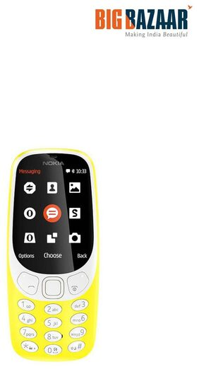 NOKIA 3310 DS TA-1030 NV, YELLOW
