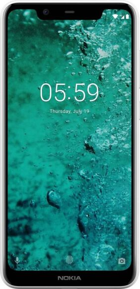 Nokia 5.1 Plus 3 GB 32 GB White