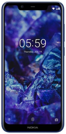 Nokia 5.1 Plus 3 GB 32 GB Blue