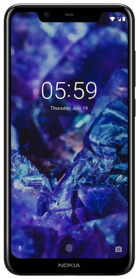 Nokia 5.1 Plus 3 GB 32 GB Black
