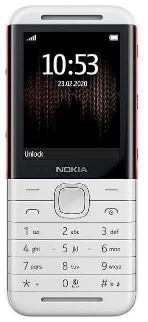 Nokia 5310 Dual SIM (White & Red)