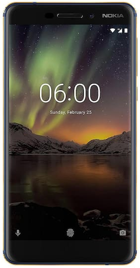 Nokia 6.1 2018 4GB + 64GB Blue Gold