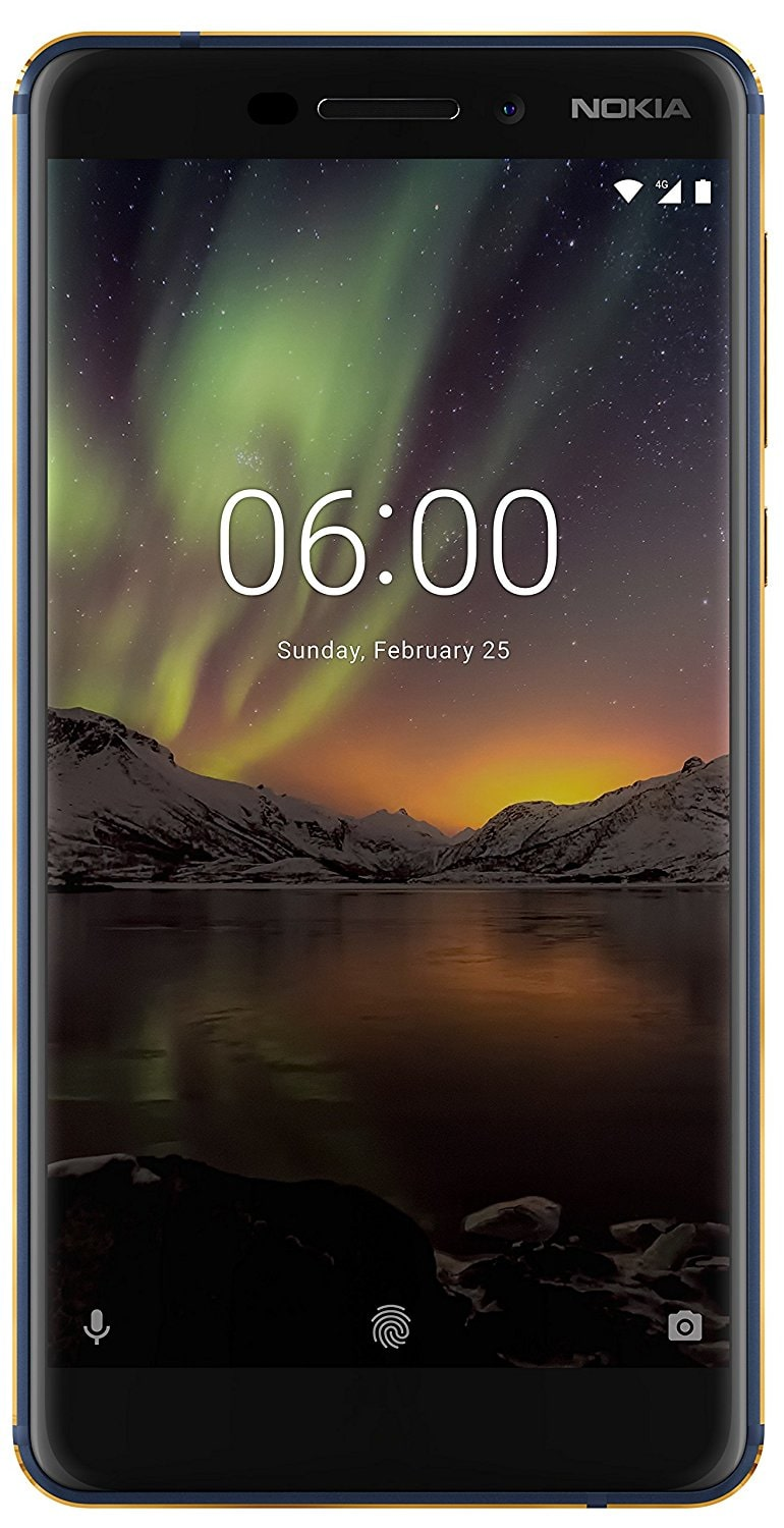 Nokia 6.1  2018  4GB + 64GB Blue Gold