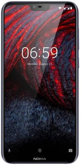 Nokia 6.1 Plus 6 GB 64 GB Blue