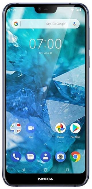 Nokia 7.1 4 GB 64 GB Midnight Blue