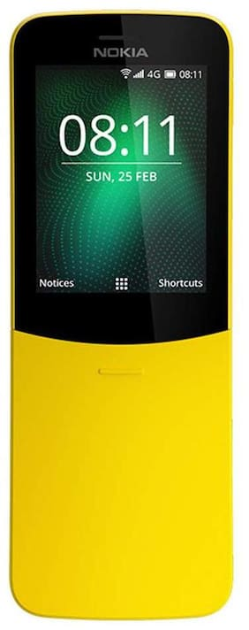 Nokia 8110 DS 4 GB Yellow