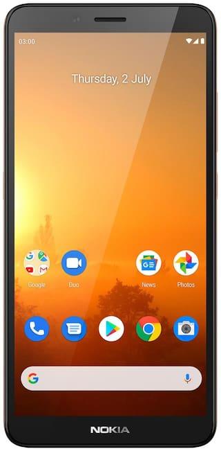 Nokia C3 (Sand, 32 GB)  (3 GB RAM)