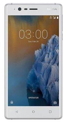 Nokia 3 16 GB Silver White