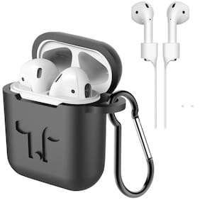 Nory Silicon Airpod Case For Apple Airpods (black)