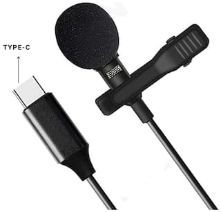 Nory Type C Clip-on Mic Microphone for Audio and Video Recording