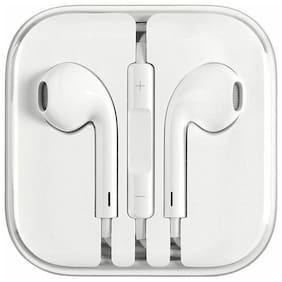 NRM In-Ear Wired Headphone ( White )