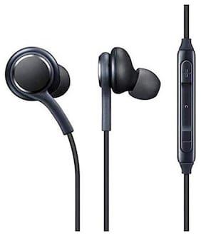 NRM In-Ear Wired Headphone ( Black )