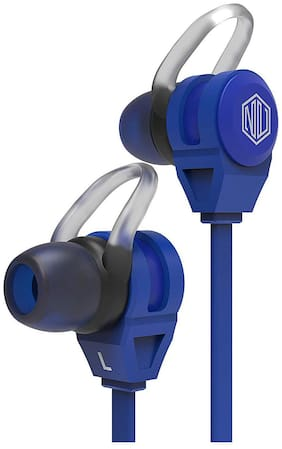 Nu Republic Jaxx m In-ear Wired Headphone ( Blue )