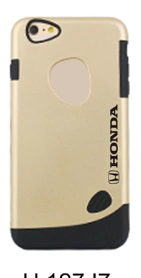 Official Honda  Protective Gold Hard case  Case for Apple iPhone 7