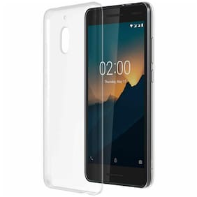 Official Nokia 2.1 V case Anti-scratch transparent silicone cover (clear)