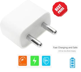 OG Quality  IPhone USB Power Adapter For iPhone 5 5s 5c 6 6s 6+ 6s+ 7 7+ (White)