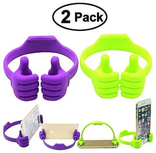 OK Stand For SmartPhones And Tablets - Color May Vary Thumbs up (PACK OF 2) (Assorted Color)