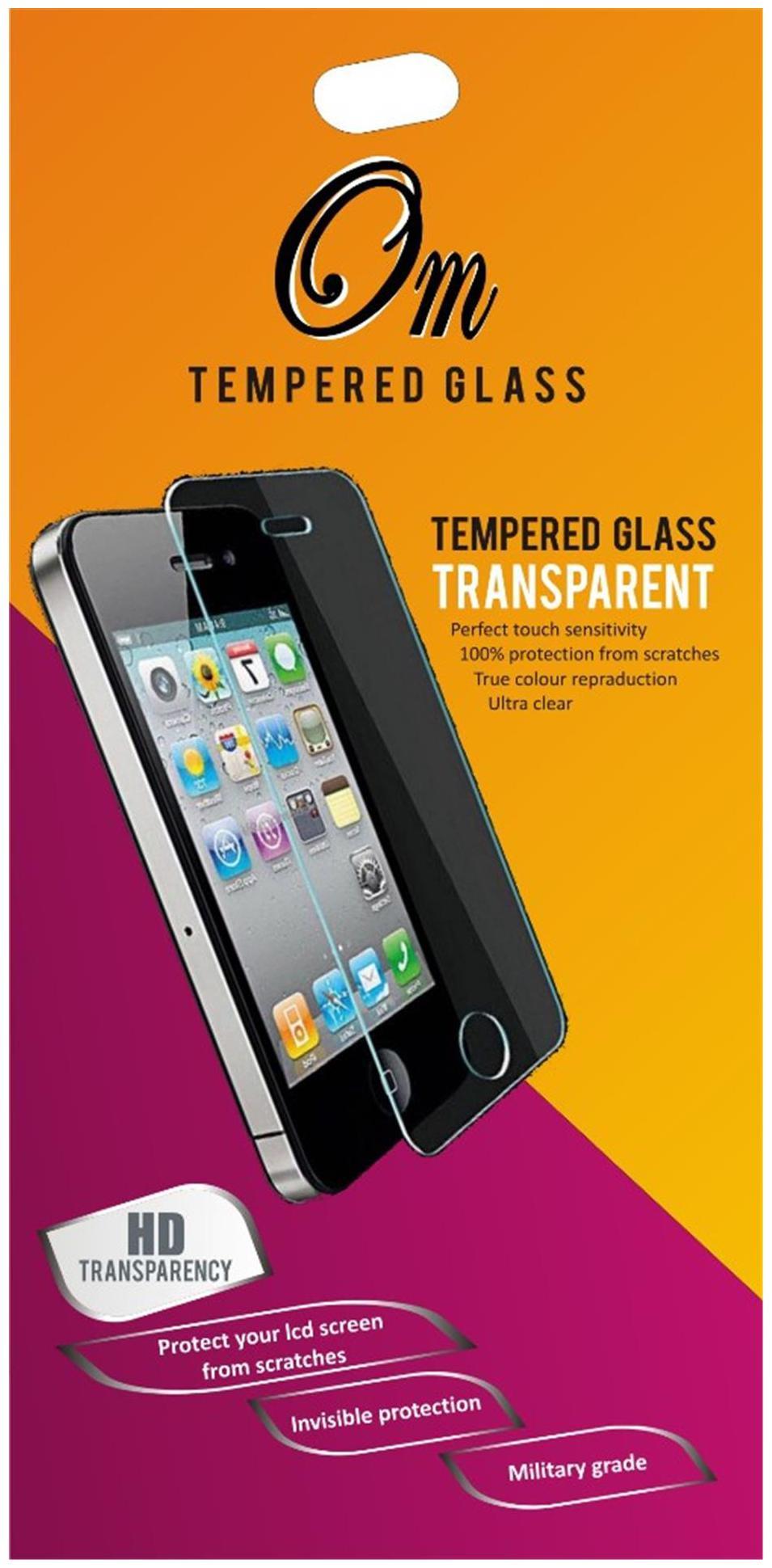 OM Tempered Glass Screen Guard For Xiaomi Redmi Note 3